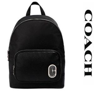 COACH COURT BACKPACK 2348 BLACK PURSE BAG LAPTOP